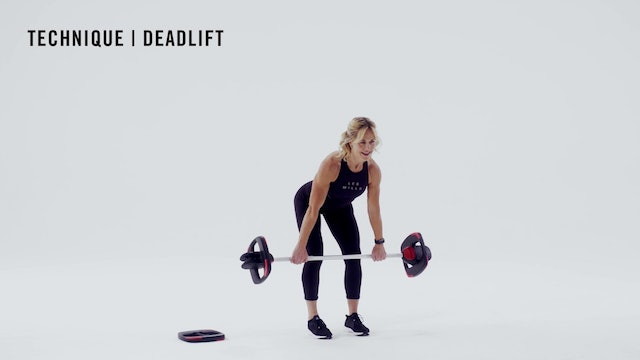 LES MILLS TECHNIQUE: Deadlift