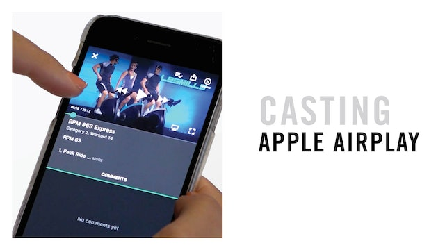 CASTING: APPLE AIRPLAY