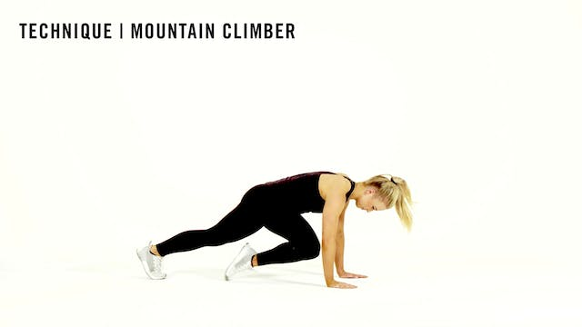 LES MILLS TECHNIQUE: Mountain Climber