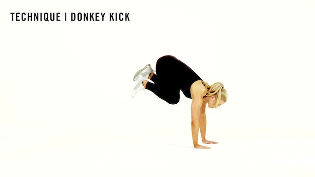 LES MILLS TECHNIQUE: Donkey Kick