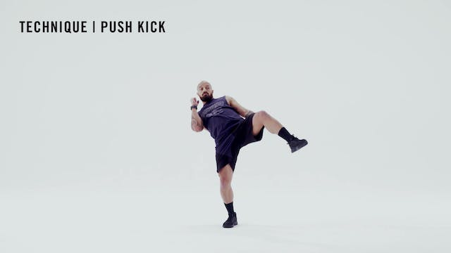 LES MILLS TECHNIQUE: Push Kick