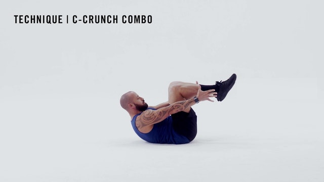 LES MILLS TECHNIQUE: C-Crunch Combo
