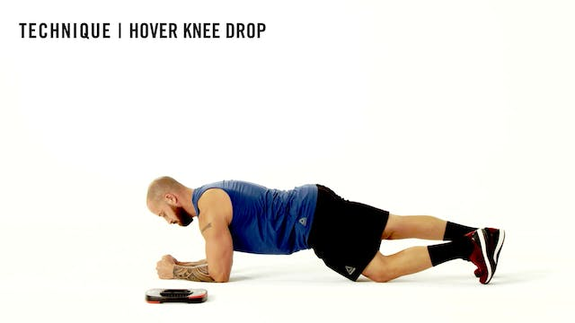 LES MILLS TECHNIQUE: Hover Knee Drop