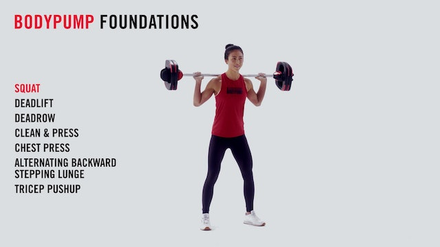 LES MILLS TECHNIQUE: BODYPUMP Foundations