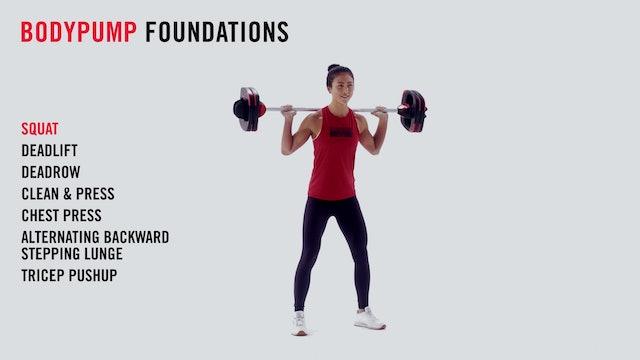 LES MILLS TECHNIQUE: BODYPUMP Foundations