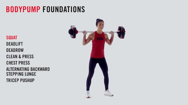 LES MILLS TECHNIQUE: BODYPUMP Foundat...