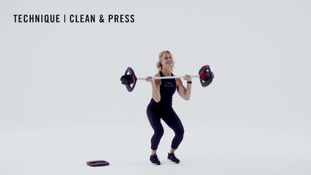 LES MILLS TECHNIQUE: Clean & Press
