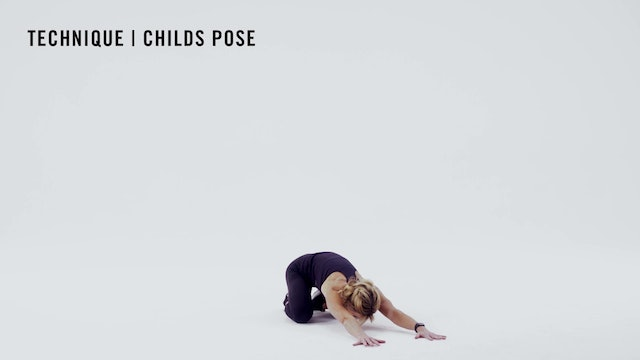 LES MILLS TECHNIQUE: Childs Pose