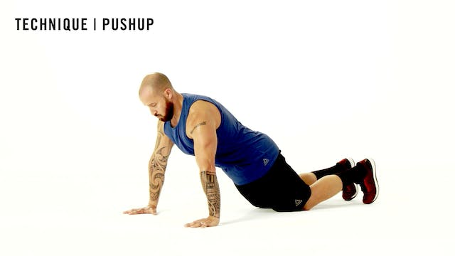 LES MILLS TECHNIQUE: Pushup