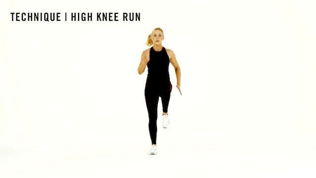 LES MILLS TECHNIQUE: High Knee Run