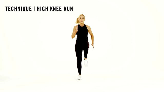 LES MILLS TECHNIQUE: High Knee Run