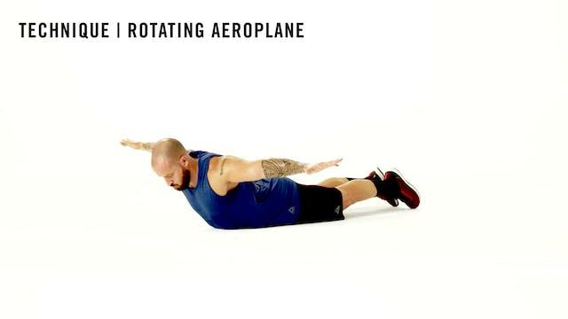 LES MILLS TECHNIQUE: Rotating Aeroplane