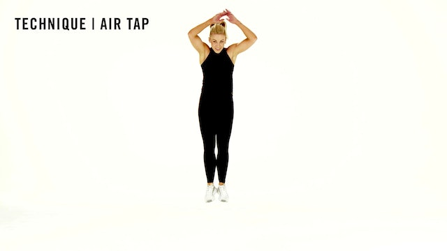 LES MILLS TECHNIQUE: Air Tap