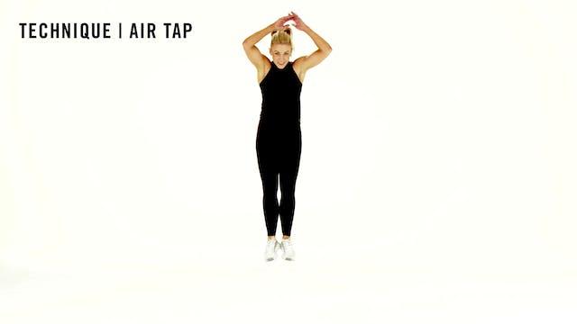 LES MILLS TECHNIQUE: Air Tap