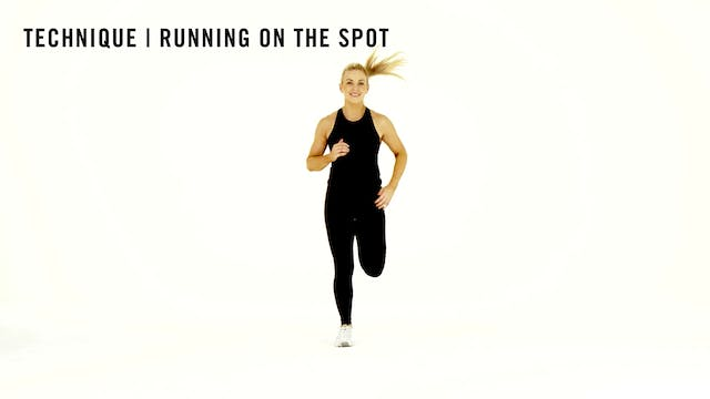 LES MILLS TECHNIQUE: Running On The Spot