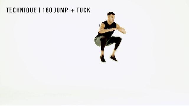 LES MILLS TECHNIQUE: 180 Jump + Tuck