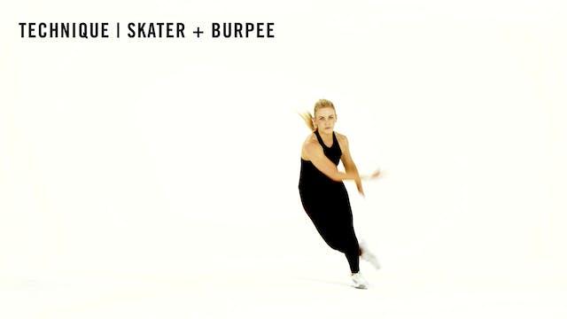 LES MILLS TECHNIQUE: Skater Burpee