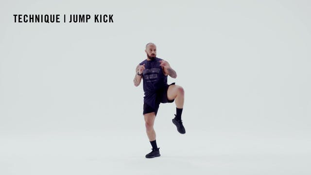 LES MILLS TECHNIQUE: Jump Kick