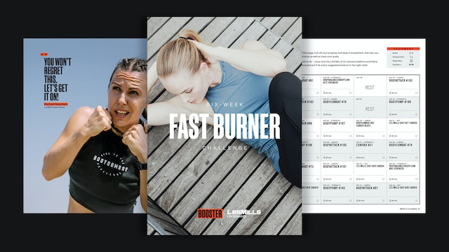 FAST BURNER CHALLENGE Downloadable Pack