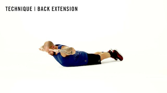LES MILLS TECHNIQUE: Back Extension