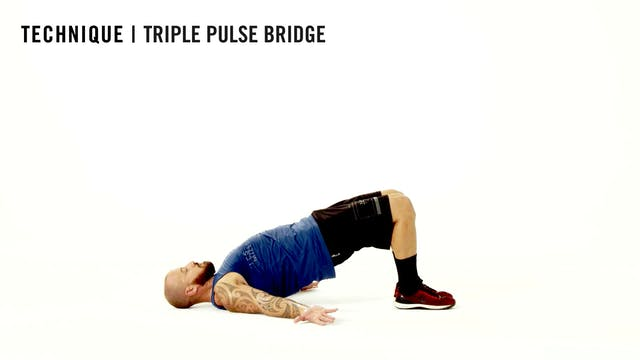 LES MILLS TECHNIQUE: Triple Pulse Bridge