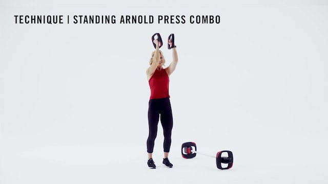 LES MILLS TECHNIQUE: Standing Arnold Press Combo
