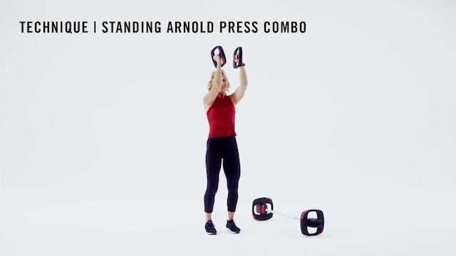LES MILLS TECHNIQUE: Standing Arnold ...