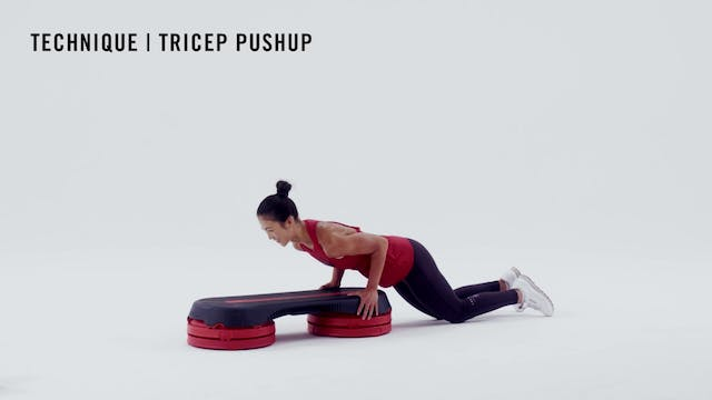 LES MILLS TECHNIQUE: Tricep Pushup