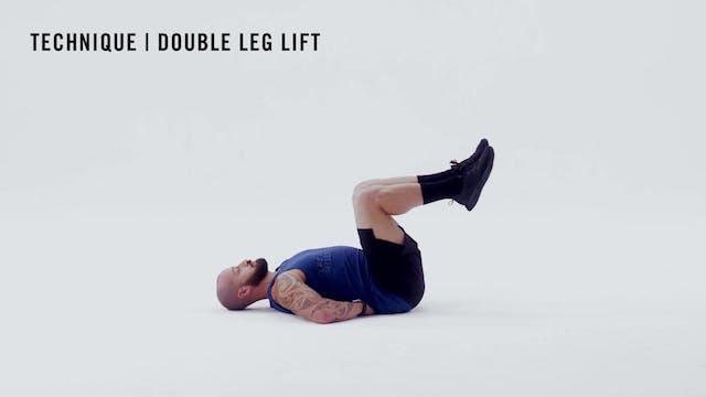 LES MILLS TECHNIQUE: Double Leg Lift
