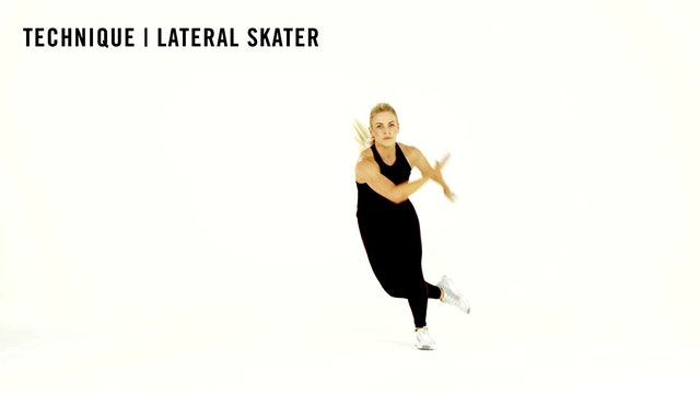 LES MILLS TECHNIQUE: Lateral Skater