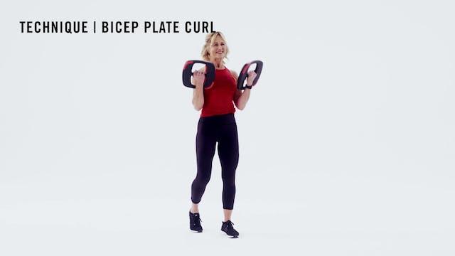 LES MILLS TECHNIQUE: Bicep Plate Curl