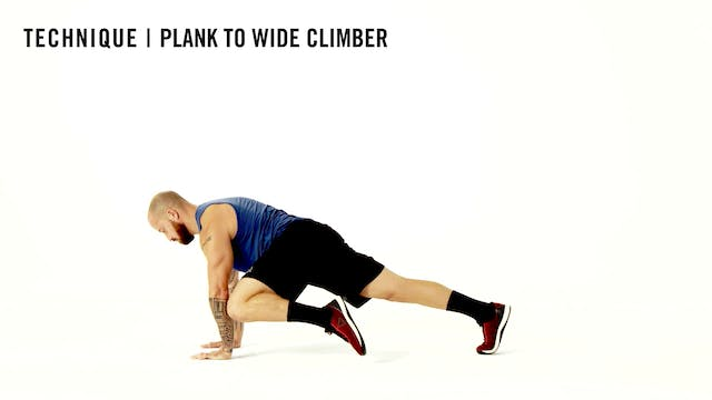 LES MILLS TECHNIQUE: Plank To Wide Cl...