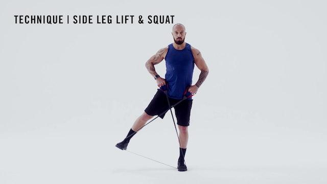 LES MILLS TECHNIQUE: Side Leg Lift & Squat