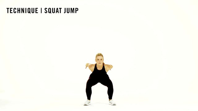 LES MILLS TECHNIQUE: Squat Jump