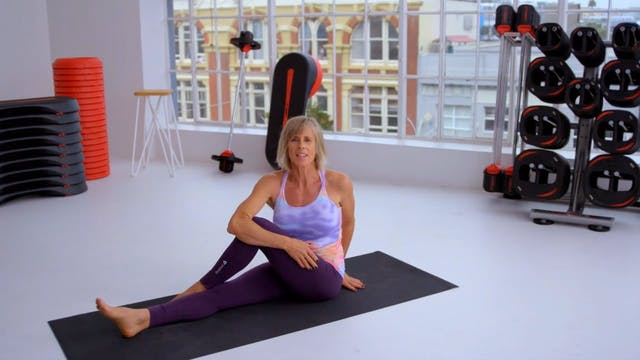 LEARN THE MOVES: Spinal Twist