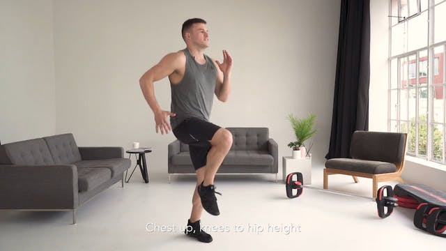 Cardio Fitness Test: Level 3 Moves