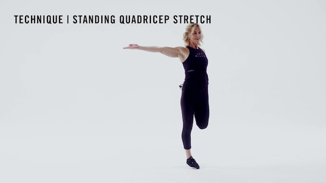 LES MILLS TECHNIQUE: Standing Quadricep Stretch