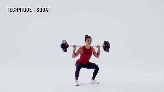 LES MILLS TECHNIQUE: Squat
