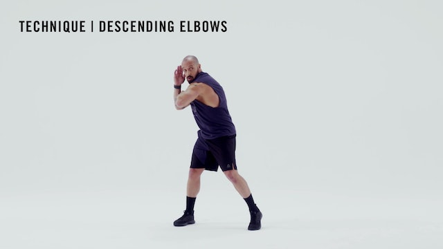 LES MILLS TECHNIQUE: Descending Elbows