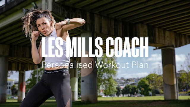 PERSONALISED WORKOUT PLANS