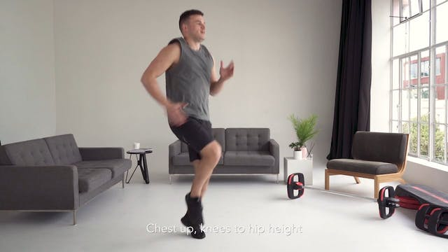 Cardio Fitness Test: Level 2 Moves