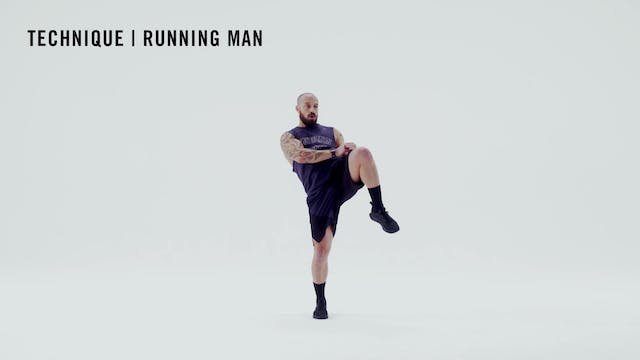 LES MILLS TECHNIQUE: Running Man