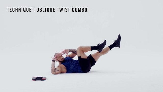 LES MILLS TECHNIQUE: Oblique Twist Combo