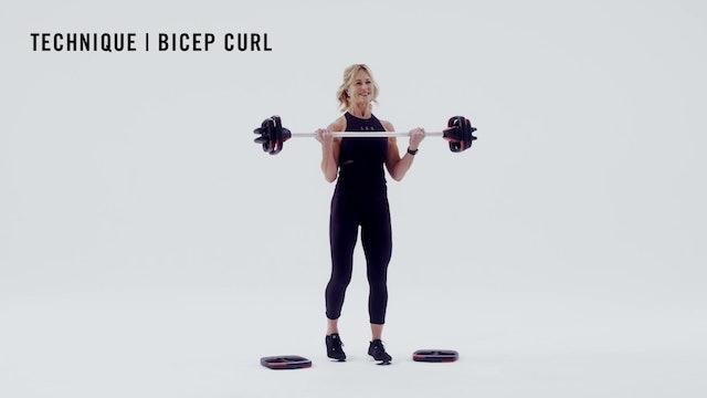 LES MILLS TECHNIQUE: Bicep Curl