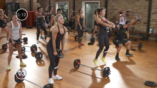 LES MILLS GRIT #14 Athletic