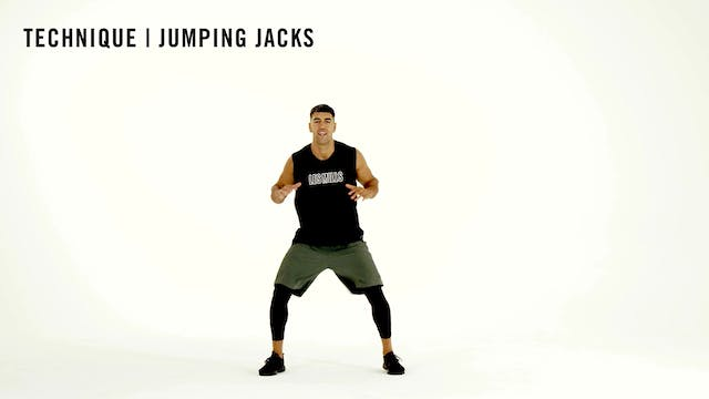 LES MILLS TECHNIQUE: Jumping Jacks