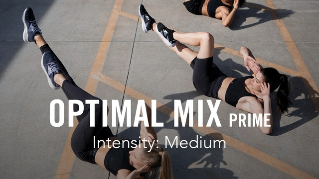 MIX IT UP – 3 workouts a week