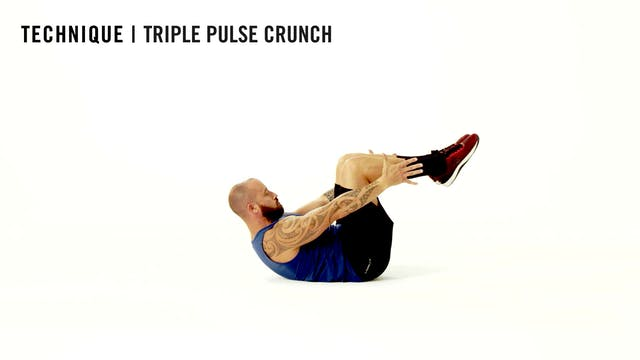 LES MILLS TECHNIQUE: Triple Pulse Crunch