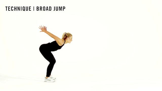 LES MILLS TECHNIQUE: Broad Jump