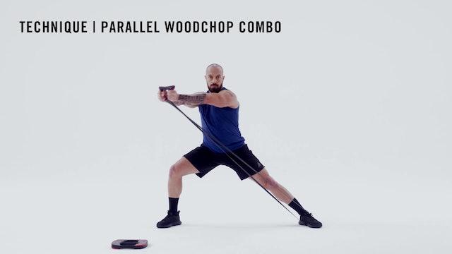 LES MILLS TECHNIQUE: Parallel Woodchop Combo
